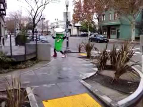 Mr. Pickle dances for you...