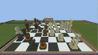 Minecraft - WorldEdit Chess on Robbit!