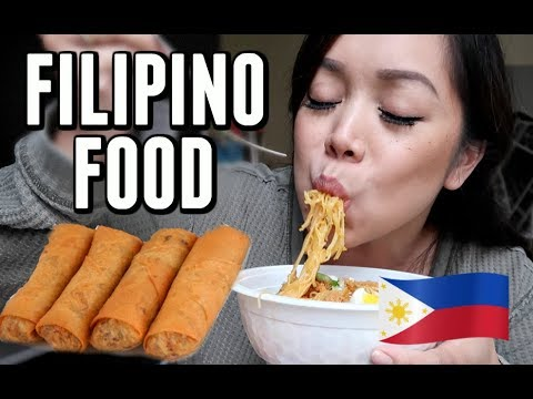 FILIPINO FOOD MUKBANG! -  ItsJudysLife Vlogs