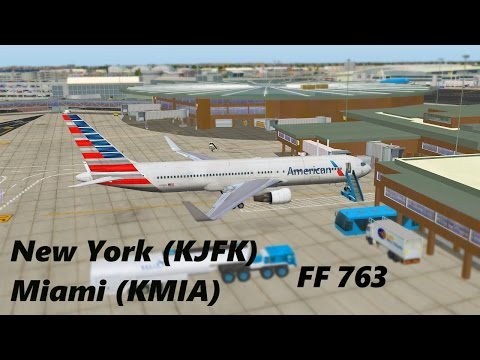 X-Plane 10 | VATSIM | B763 | KJFK-KMIA | 300 SUBS FLIGHT!