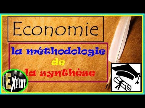 Economie : la méthodologie de la synthèse