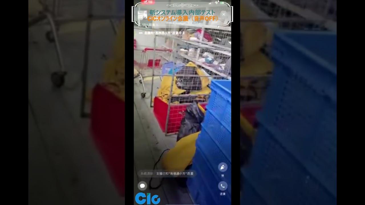 CIC上海倉庫の動画が流出~