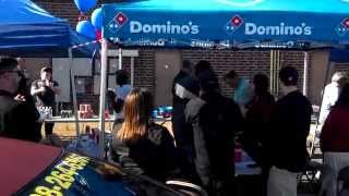"Domino's Pizza Charlotte Team ""Cheer"""