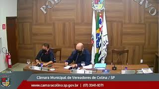 Câmara Municipal de Colina - 4ª Sessão Extraordinária 11/03/2021