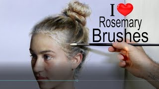 Brushes! How to select the right type of brushes for your paintings. Cesar Santos vlog 016