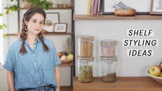 3 Tips for Styling Shelves | Alli Cherry
