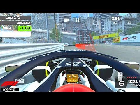 F1 Mobile Racing Monaco Hotlap!