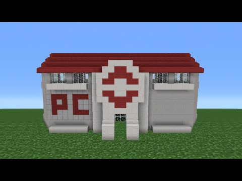Minecraft Tutorial: How To Make A Pokemon Center