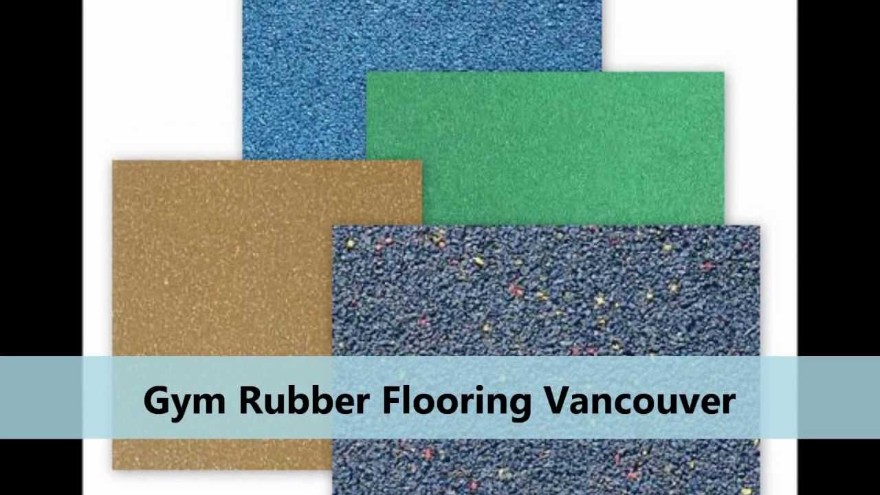 Rubber flooring vancouver 604 283 1003