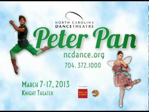 North Carolina Dance Theatre's Peter Pan
