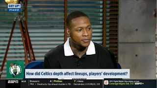 ESPN GET UP | Terry Rozier DEBATE: How did Celtics depth affect lineups, players' development?