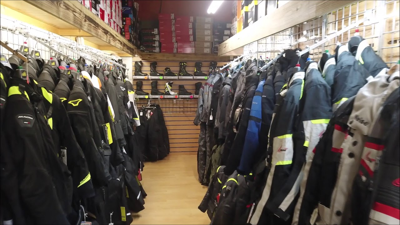 Motorcycle Clothing, Motorcycle Parts and Accessories - Staffordshire