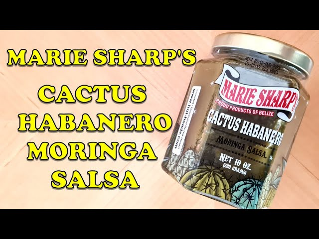 Marie Sharp's Green Habanero Cactus Moringa Salsa review