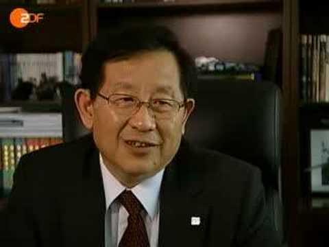 Chinas neuer Forschungsminister Wan Gang im Heute Journal