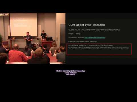 BSides Nashville 2017 Red01 Windows Operating System Archaeology Casey Smithand Matt Nelson
