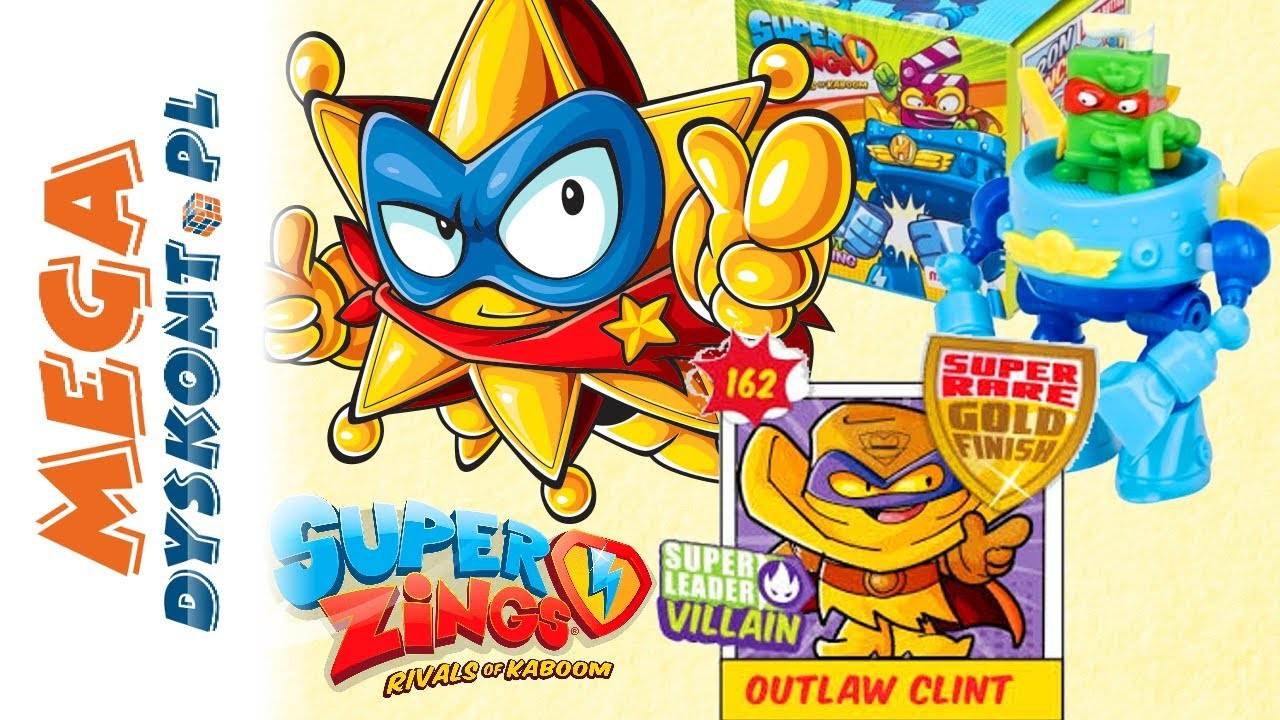 Super Zings Seria 3 Robot Superbot I Saszetki Niespodzianki Unboxing Megadyskont Youtube