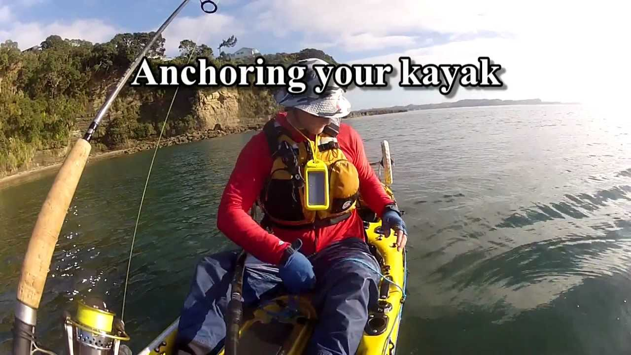 how to make a kayak anchor
