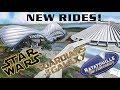 Disney World Announces Star Wars Hotel, Tron Coaster, & Guardians Ride! D23 2017 RECAP!