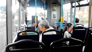 bus ride on the 21 bus to burnham on sea. 25.7.2016
