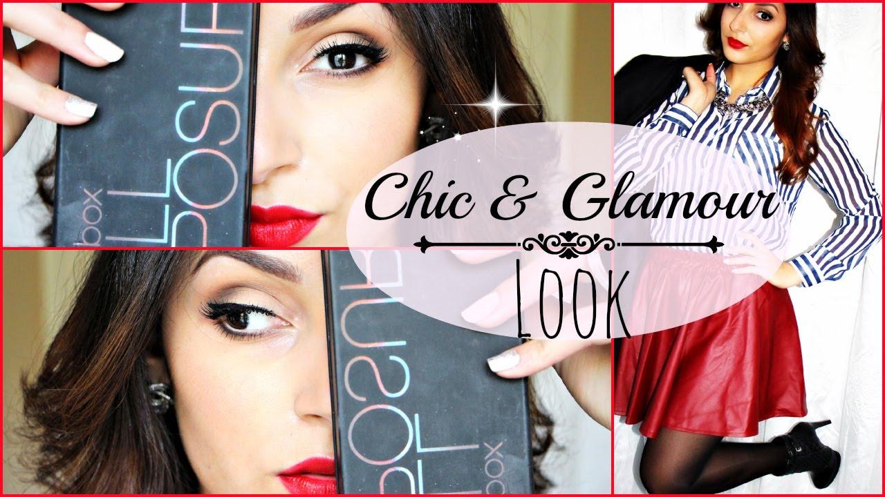 @Sananas: Chic & Glam : Léger smokey & Red lips ❥ w/ Full Exposure