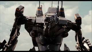 District 9 - Wikus' sacrifice; the robot fight. [Clip 11 of 13]
