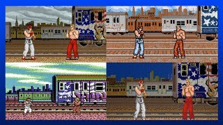 JOE STAGE - All Versions | Street Fighter