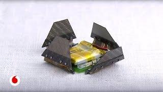 Diminutos robots inspirados en el arte japonés del origami