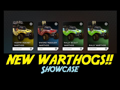 Hog Wild | All New Warthogs SHOWCASE! | Halo 5