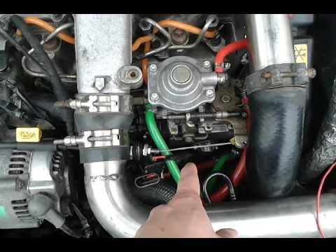 Rover 45 SD - Timing advance solenoid manual control