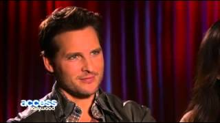 Access Hollywood Interview Peter Facinelli and Elizabeth Reaser