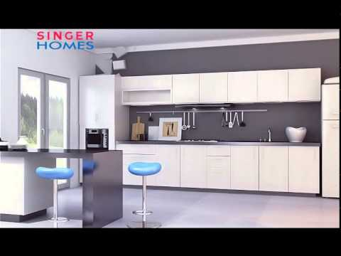 SINGER PANTRY CUPBOARDS 15 ENGLISH YouTube
