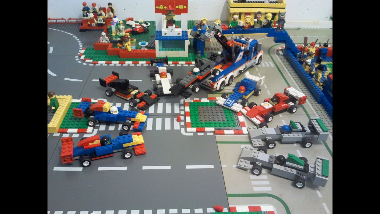Lego Formula  Race Car Model Team
