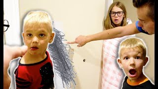 Dad PRANKED 4 Year Old In BIG TROUBLE!