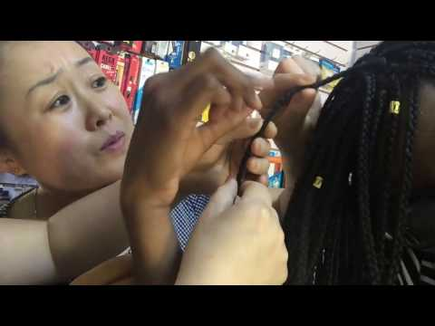 CHINESE REACT TO BLACK GIRL WITH BRAIDS