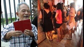 Cụ ông 85 tuổi và bí quyết được hơn 30 phụ nữ xinh đẹp xếp hàg xin được làm vợ