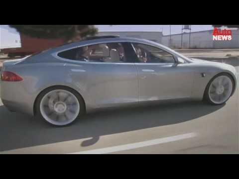 """Strom für fünf: Tesla stellt die Elektro-Limousine """"S"""" vor"""