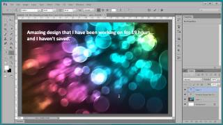 Best New Feature of Photoshop CS6 - Autosave-Recovery