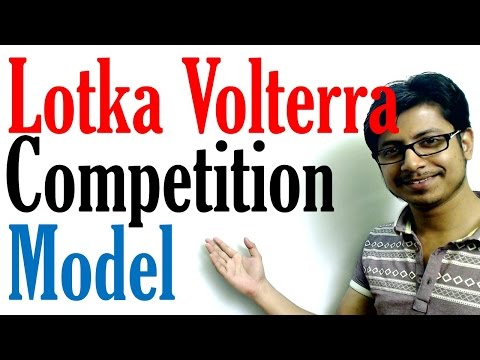 Lotka Volterra Model | Competition Model And Predator Prey Model With Equation