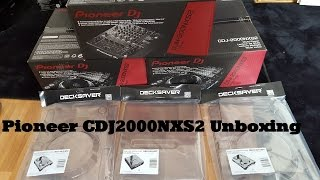 Pioneer CDJ2000NXS2 Unboxing & Decksaver Unboxing