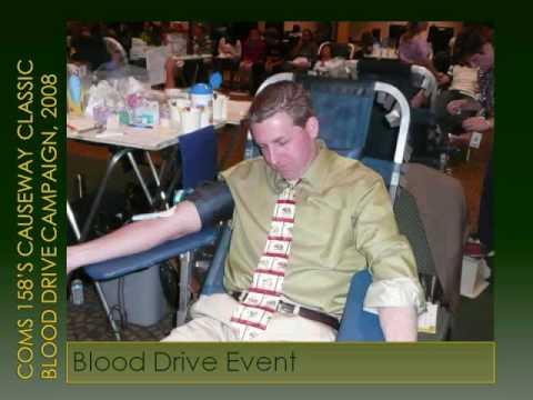 Sacramento State's 2008 Causeway Classic Blood Drive Campaign