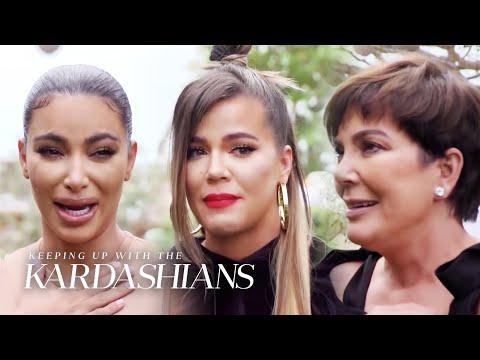 Kardashians Break Down in Tears When Telling Crew