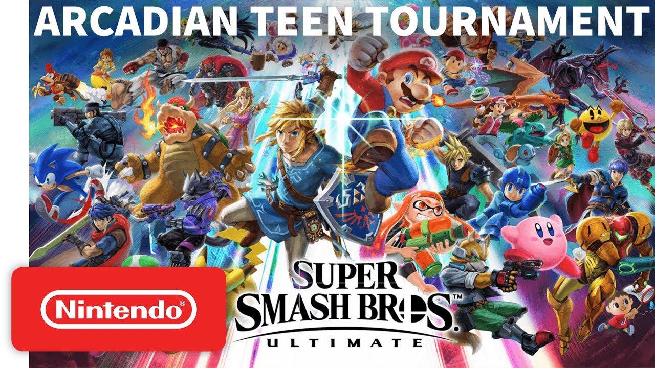 Super Smash Bros. Ultimate - Arcadian Teen Tournament - Nintendo Switch