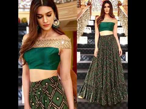 Off Shoulder Blouse Lehenga Designs Off Shoulder Blouse Saree Designs Youtube