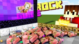 Die beste Gold und XP Farm in Minecraft Bedrock | Minecraft Bedrock Guide | LarsLP