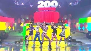 【TVPP】After School - DIVA, 애프터스쿨 - 디바 @ 200th Special, Show Music Core Live