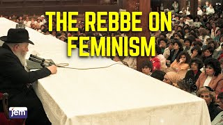 The Lubavitcher Rebbe on Feminism