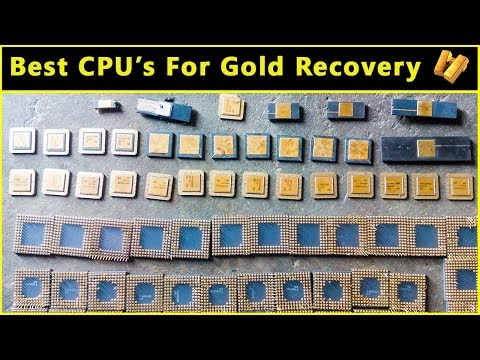🔥Best CPU Processors For Gold Recovery | Computer Recycling