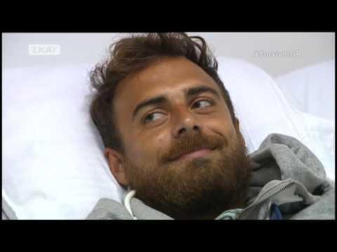 Survivor   Ο Τανιμανίδης επισκέπτεται τους Μαχητές στο νοσοκομείο   30/3/2017