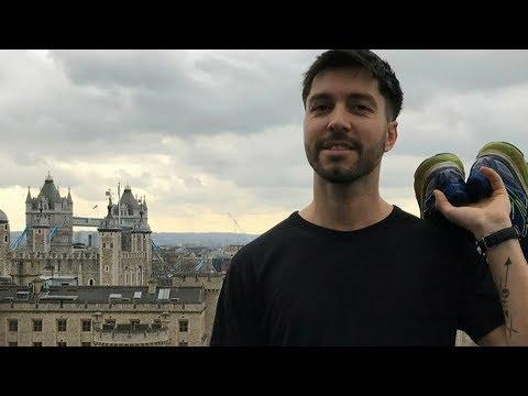 Runners unite to finish Masterchef contestant's London marathon in his memory   ITV News