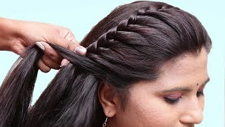 Easy Hairstyles for Wedding/Party | hair style girl || hairstyles for girls | cute hairstyles 2019